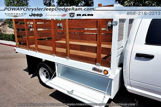 2018 Ram 5500 Crew Cab DRW 4x2,  Bedco Truck Equipment Stake Bed #C15833 - photo 41