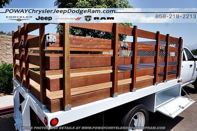 2018 Ram 5500 Crew Cab DRW 4x2,  Bedco Truck Equipment Stake Bed #C15833 - photo 43