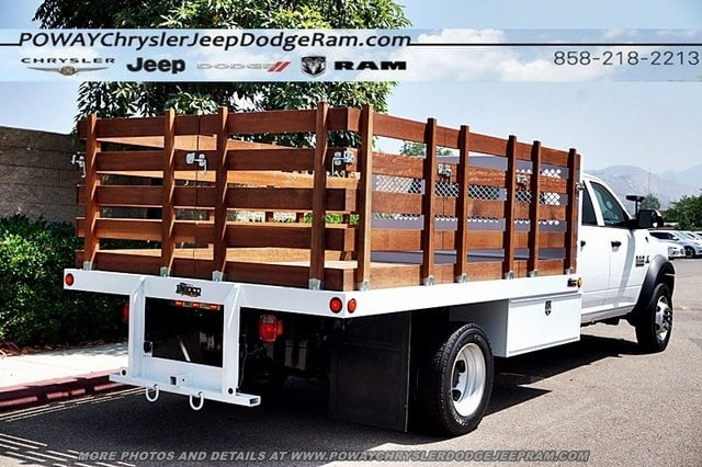 2018 Ram 5500 Crew Cab DRW 4x2,  Bedco Truck Equipment Stake Bed #C15833 - photo 2