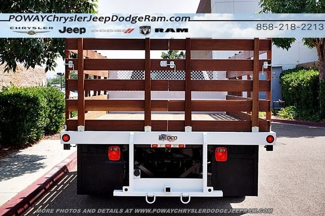 2018 Ram 5500 Crew Cab DRW 4x2,  Bedco Truck Equipment Stake Bed #C15833 - photo 44