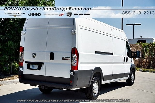 2018 ProMaster 3500 High Roof FWD,  Empty Cargo Van #C16277 - photo 8