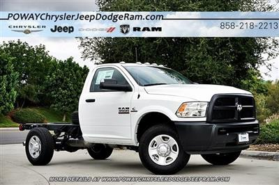 2018 Ram 3500 Regular Cab 4x2,  Cab Chassis #C16452 - photo 1