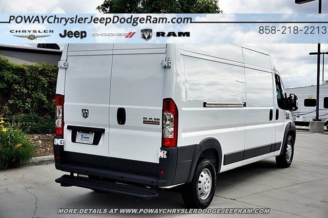 2018 ProMaster 2500 High Roof FWD,  Empty Cargo Van #C16526 - photo 10