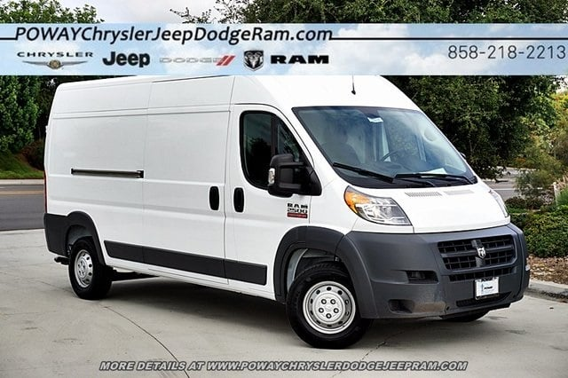 2018 ProMaster 2500 High Roof FWD,  Empty Cargo Van #C16526 - photo 3