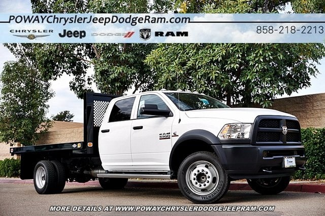 2018 Ram 4500 Crew Cab DRW 4x2,  Knapheide Platform Body #C16564 - photo 1