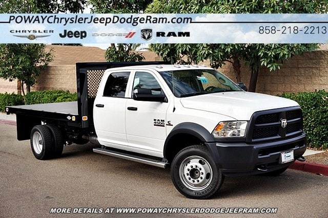 2018 Ram 4500 Crew Cab DRW 4x2,  Knapheide Platform Body #C16564 - photo 26