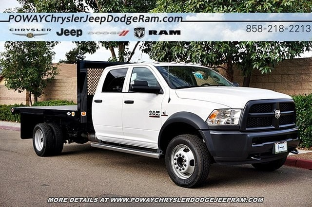 2018 Ram 4500 Crew Cab DRW 4x2,  Knapheide Platform Body #C16564 - photo 29