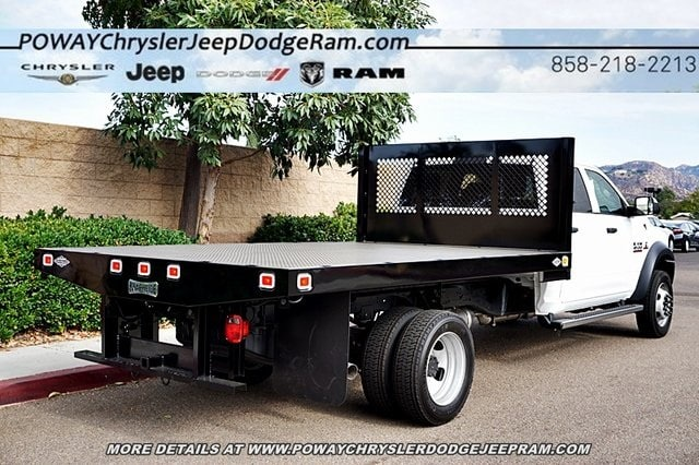 2018 Ram 4500 Crew Cab DRW 4x2,  Knapheide Platform Body #C16564 - photo 2