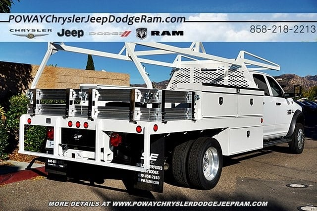 2018 Ram 4500 Crew Cab DRW 4x2,  Scelzi Contractor Body #C16567 - photo 2