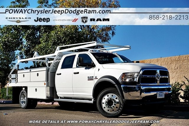 2018 Ram 4500 Crew Cab DRW 4x2,  Scelzi CTFB Contractor Body #C16567 - photo 1