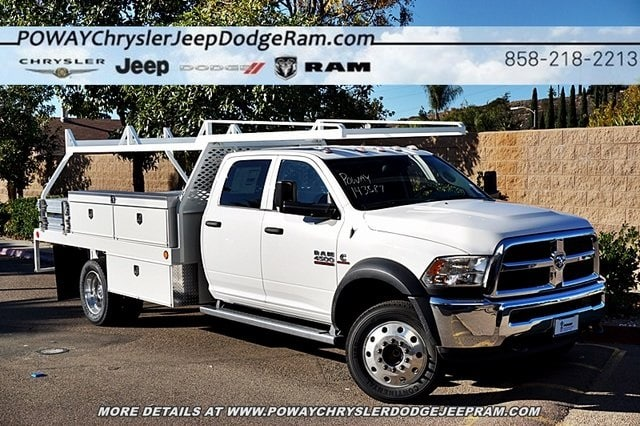 2018 Ram 4500 Crew Cab DRW 4x2,  Scelzi Contractor Body #C16567 - photo 3