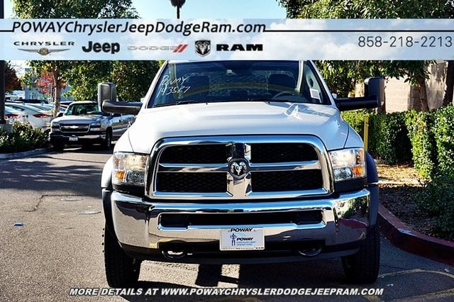 2018 Ram 4500 Crew Cab DRW 4x2,  Scelzi Contractor Body #C16567 - photo 5
