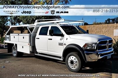 2018 Ram 4500 Crew Cab DRW 4x2,  Scelzi CTFB Contractor Body #C16567 - photo 6