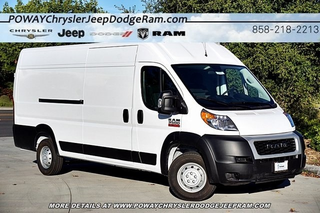 2019 ProMaster 3500 High Roof FWD,  Empty Cargo Van #C16600 - photo 3