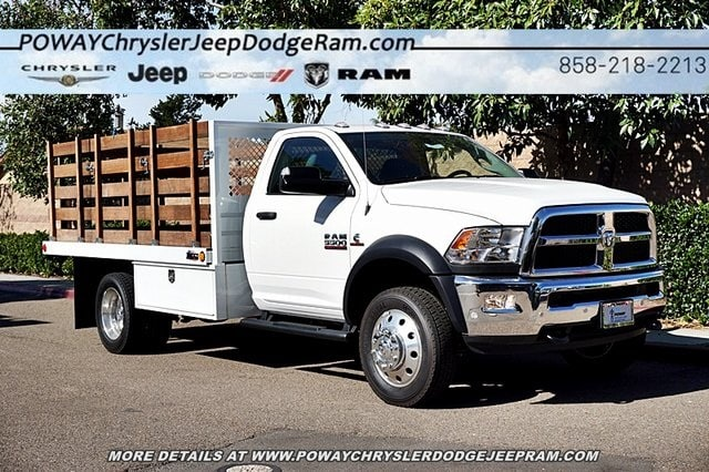 2018 Ram 5500 Regular Cab DRW 4x2,  Bedco Truck Equipment Stake Bed #C16685 - photo 21