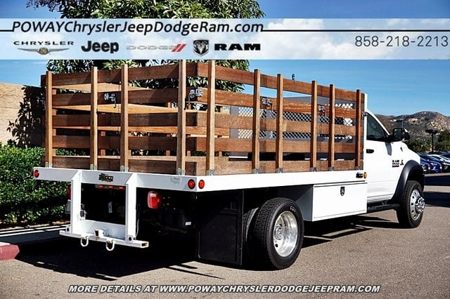 2018 Ram 5500 Regular Cab DRW 4x2,  Bedco Truck Equipment Stake Bed #C16685 - photo 2