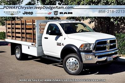 2018 Ram 5500 Regular Cab DRW 4x2,  Bedco Truck Equipment Stake Bed #C16685 - photo 18