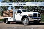 2018 Ram 5500 Regular Cab DRW 4x2,  Bedco Truck Equipment Stake Bed #C16685 - photo 1