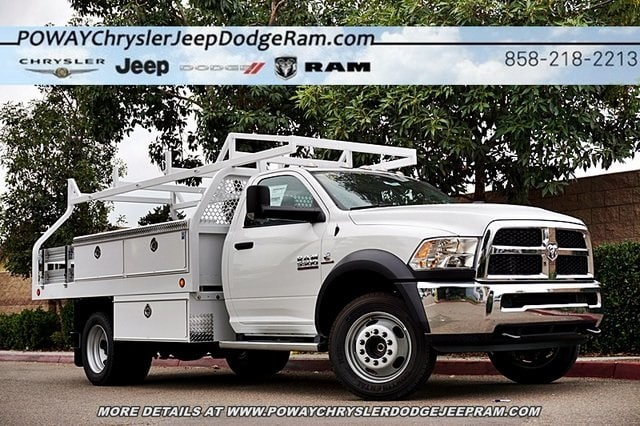 2018 Ram 5500 Regular Cab DRW 4x2,  Royal Contractor Body #C16701 - photo 1