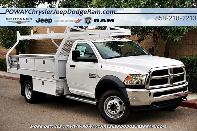2018 Ram 5500 Regular Cab DRW 4x2,  Royal Contractor Body #C16701 - photo 3