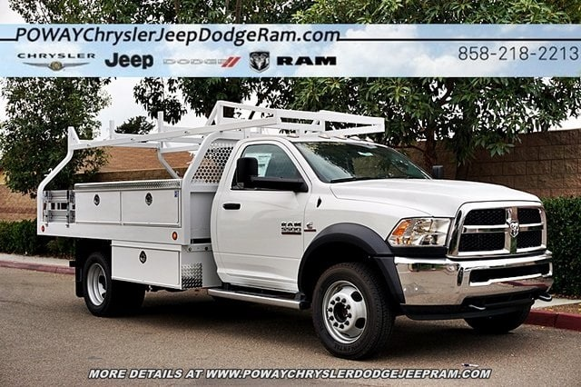 2018 Ram 5500 Regular Cab DRW 4x2,  Royal Contractor Body #C16701 - photo 6