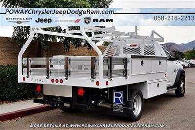 2018 Ram 5500 Regular Cab DRW 4x2,  Royal Contractor Body #C16701 - photo 2
