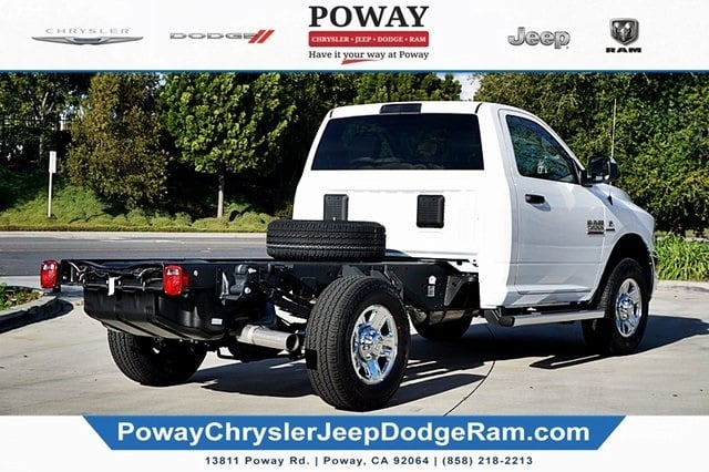 2018 Ram 3500 Regular Cab 4x4,  Cab Chassis #C16743 - photo 2