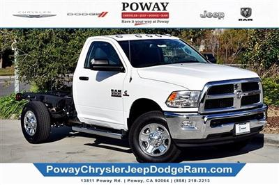 2018 Ram 3500 Regular Cab 4x4,  Cab Chassis #C16743 - photo 3