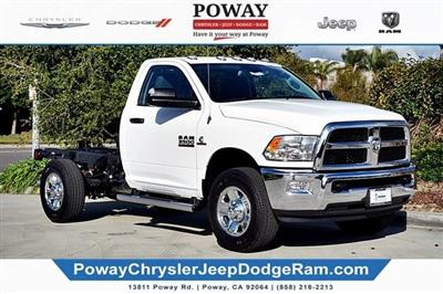2018 Ram 3500 Regular Cab 4x4,  Cab Chassis #C16743 - photo 8