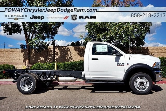 2018 Ram 5500 Regular Cab DRW 4x2,  Cab Chassis #C16844 - photo 6