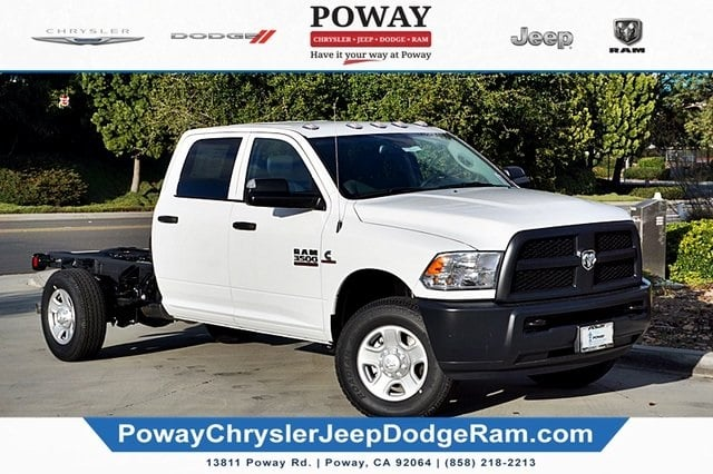 2018 Ram 3500 Crew Cab 4x2,  Cab Chassis #C16853 - photo 3