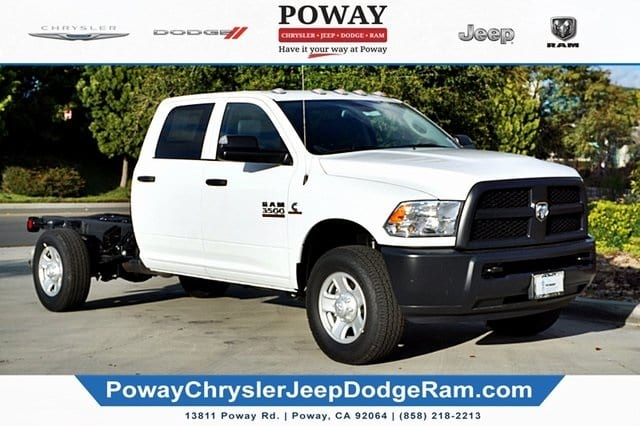 2018 Ram 3500 Crew Cab 4x2,  Cab Chassis #C16853 - photo 8