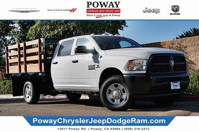 2018 Ram 3500 Crew Cab 4x2, Custom Truck Body & Equipment Stake Bed #C16853 - photo 1