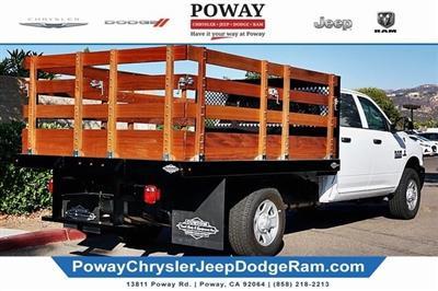 2018 Ram 3500 Crew Cab 4x2,  Custom Truck Body & Equipment Stake Bed #C16853 - photo 2