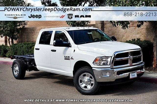 2018 Ram 3500 Crew Cab 4x4,  Cab Chassis #C16857 - photo 3