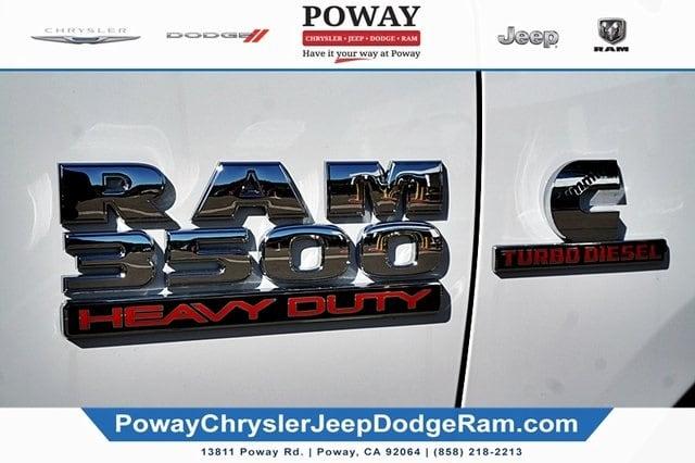 2018 Ram 3500 Regular Cab 4x2,  Cab Chassis #C16880 - photo 8