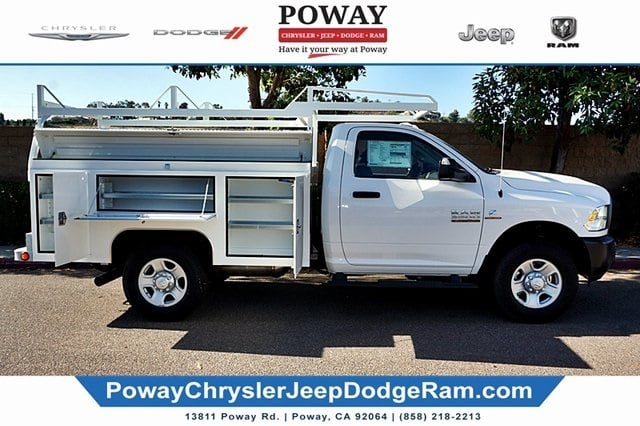 2018 Ram 3500 Regular Cab 4x2, Scelzi Signature Service Body #C16880 - photo 9