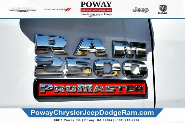 2019 ProMaster 2500 High Roof FWD,  Empty Cargo Van #C16915 - photo 8