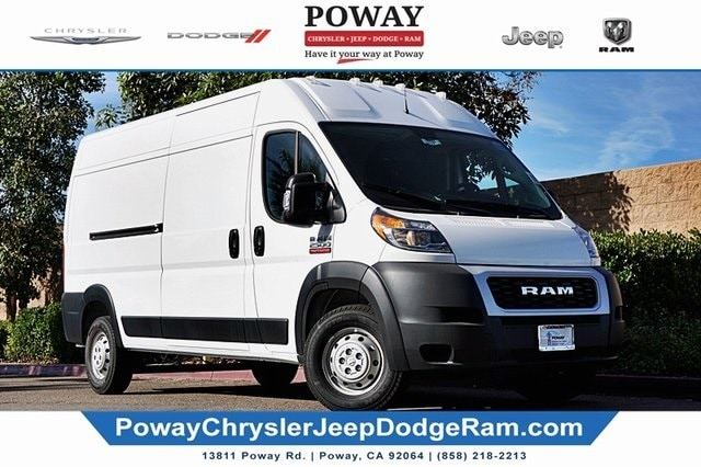 2019 ProMaster 2500 High Roof FWD, Empty Cargo Van #C17260 - photo 1