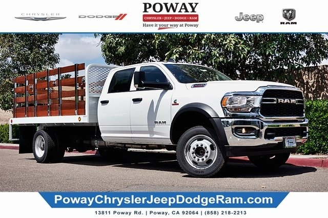 2019 Ram 5500 Crew Cab DRW 4x2, Scelzi Stake Bed #C17385 - photo 1
