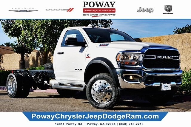 2019 Ram 5500 Regular Cab DRW 4x4, Cab Chassis #C17480 - photo 1