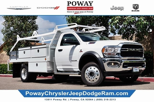 2019 Ram 5500 Regular Cab DRW 4x4, Scelzi Contractor Body #C17480 - photo 1