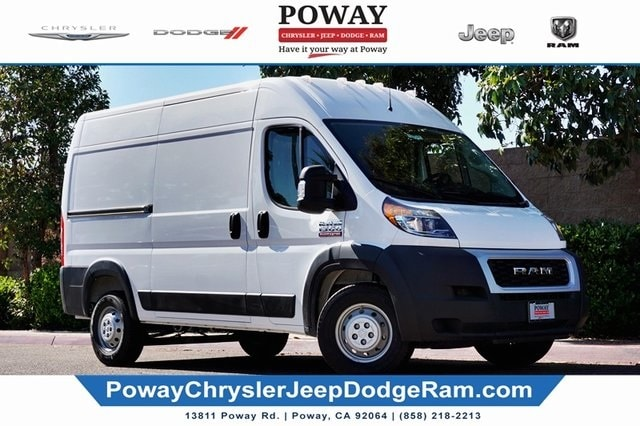 2020 Ram ProMaster 1500 High Roof FWD, Empty Cargo Van #C17548 - photo 1