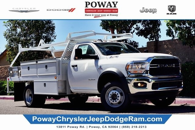2020 Ram 5500 Regular Cab DRW 4x2, Scelzi Contractor Body #C17721 - photo 1