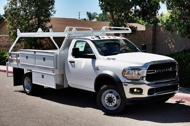 2020 Ram 5500 Regular Cab DRW 4x2, Scelzi CTFB Contractor Body #C17721 - photo 3