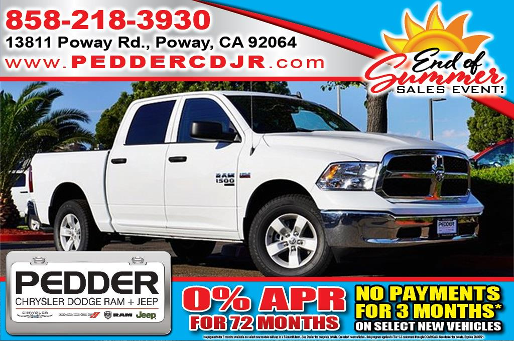 2020 Ram 1500 Crew Cab 4x4, Pickup #C18026 - photo 1