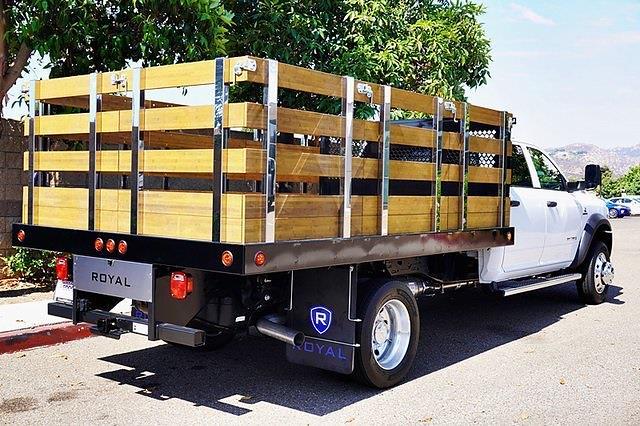 2021 Ram 5500 Crew Cab DRW 4x2, Royal Truck Body Stake Bed #C18500 - photo 1