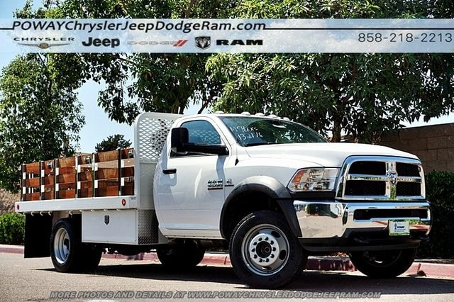 2018 Ram 4500 Regular Cab DRW 4x2,  Scelzi Stake Bed #CX16371 - photo 1