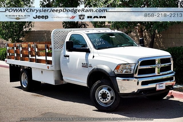 2018 Ram 4500 Regular Cab DRW 4x2,  Scelzi Stake Bed #CX16371 - photo 3