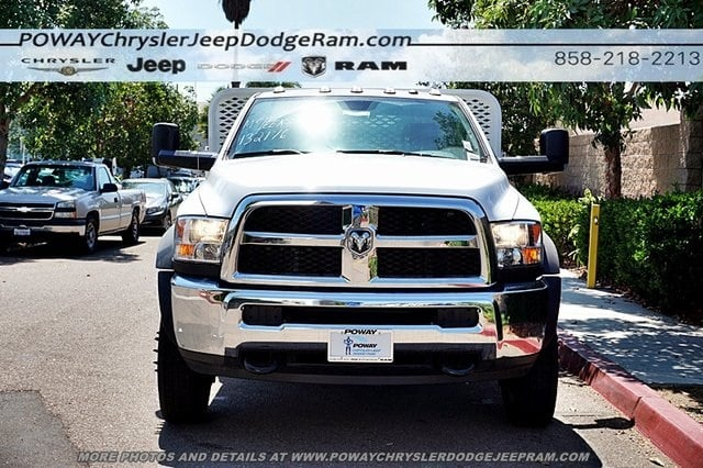 2018 Ram 4500 Regular Cab DRW 4x2,  Scelzi Stake Bed #CX16371 - photo 5